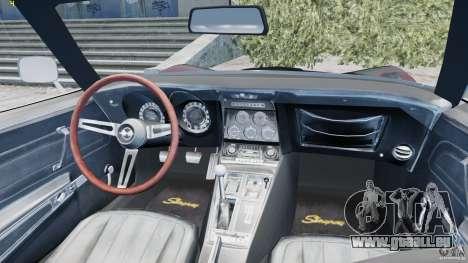 Chevrolet Corvette Stingray pour GTA 4 est un côté