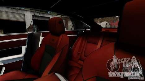 Jaguar XJ 2012 pour GTA 4 vue de dessus