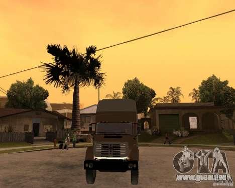 SuperZiL v. 2.0 pour GTA San Andreas vue arrière