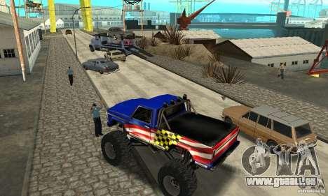 Avtoparkovŝik pour GTA San Andreas cinquième écran