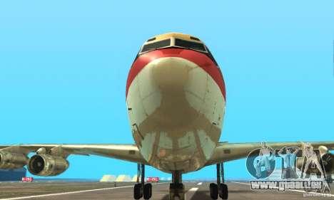 Boeing 707-300 pour GTA San Andreas vue de droite