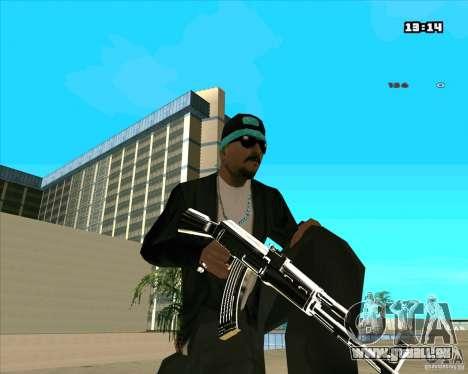 Chrome Weapon Pack pour GTA San Andreas neuvième écran
