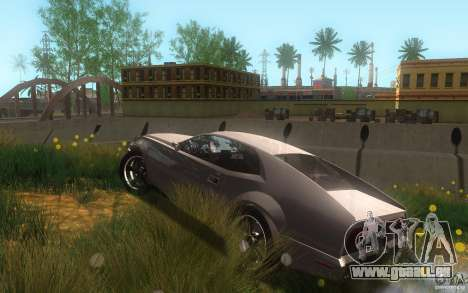 AMC Javelin 2010 für GTA San Andreas obere Ansicht