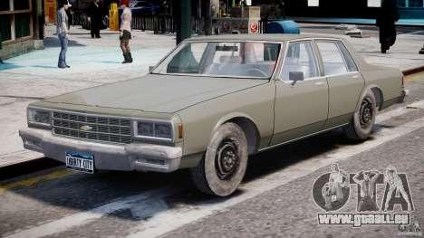 Chevrolet Impala 1983 [Final] pour GTA 4 est une gauche