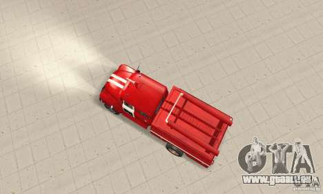 Incendie ZIL-130 pour GTA San Andreas vue de droite