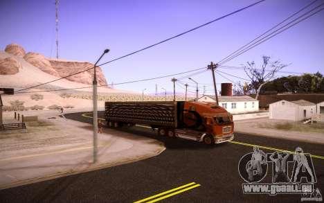 Box Trailer pour GTA San Andreas vue de droite