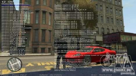 Einfache Trainer Version 6.2 für 1.0.1.0-1.0.0.4 für GTA 4 fünften Screenshot