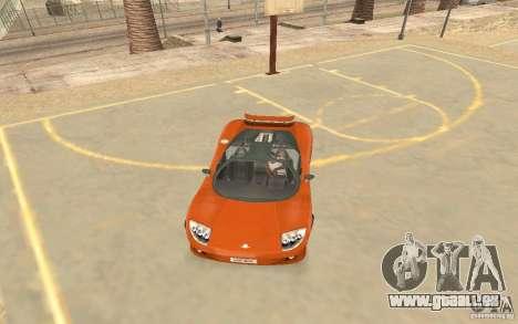 Veloche voiture pour GTA San Andreas laissé vue