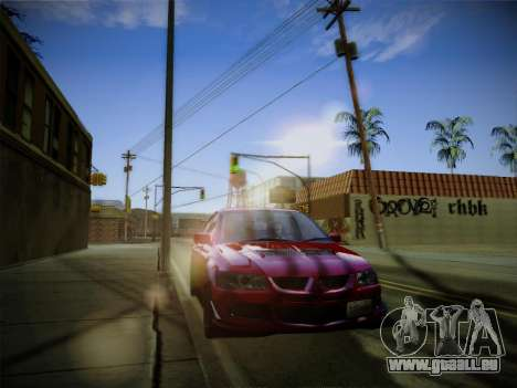 ENBSeries by Treavor für GTA San Andreas her Screenshot