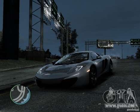 McLaren MP4-12C [EPM] 2011 pour GTA 4