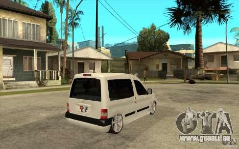 Citroen Berlingo 2007 für GTA San Andreas rechten Ansicht