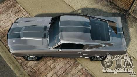 Shelby Mustang GT500 Eleanor 1967 v1.0 [EPM] für GTA 4 rechte Ansicht