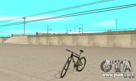 GT Dirtbike v.2 pour GTA San Andreas sur la vue arrière gauche