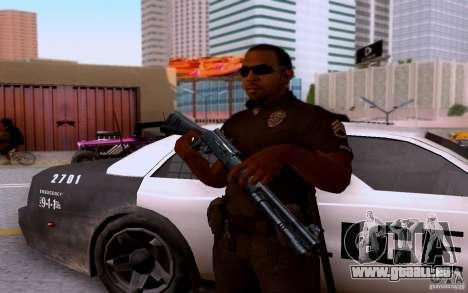 Ein Polizist aus CoD: BO2 für GTA San Andreas fünften Screenshot