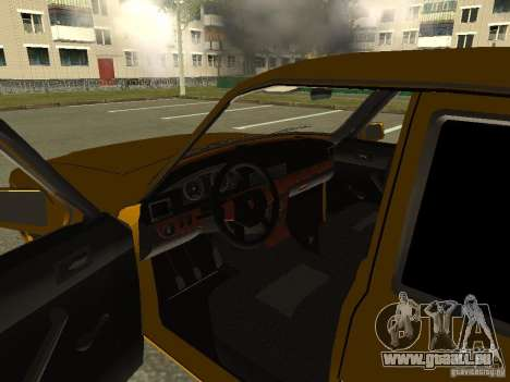 GAZ Volga 3102 für GTA San Andreas Rückansicht