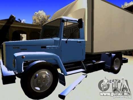 GAZ 3309 pour GTA San Andreas vue de droite