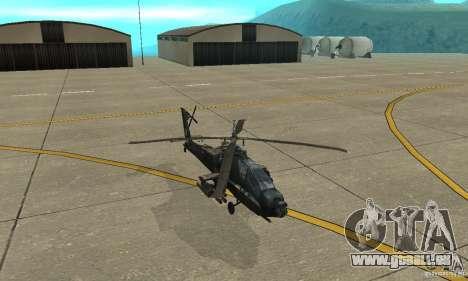 Ein-64 Apache für GTA San Andreas