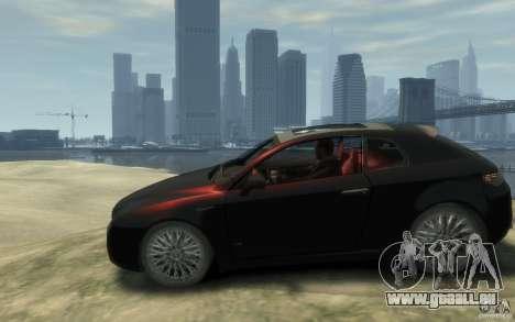 Alfa Romeo Brera pour GTA 4 est une gauche