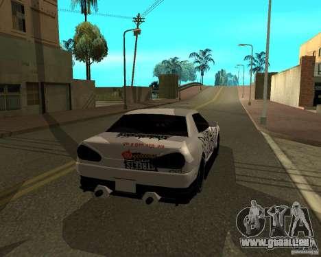 Vinyle pour Elegy pour GTA San Andreas vue de droite