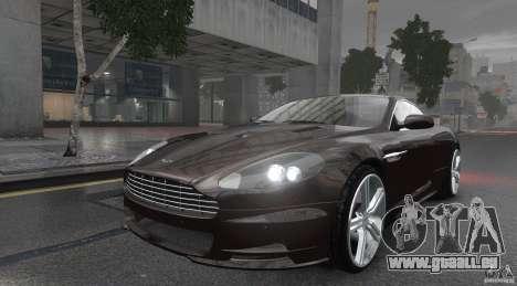 Aston Martin DBS v1.0 für GTA 4 hinten links Ansicht