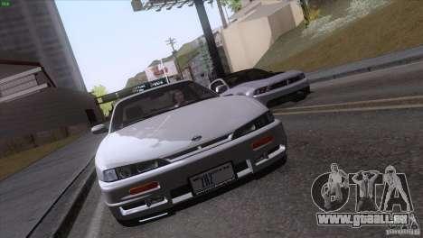 Nissan Silvia S14 Kouki pour GTA San Andreas vue de côté