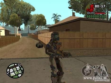 Das Kostüm der Spiele Dead Space 2 für GTA San Andreas fünften Screenshot