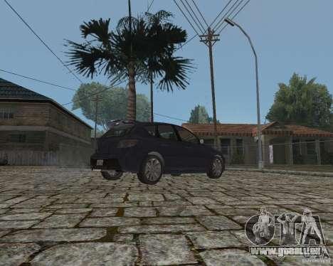 Mazda Speed 3 pour GTA San Andreas vue de droite
