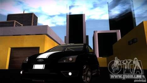 Ford Focus 2 Coupe pour GTA San Andreas vue de droite
