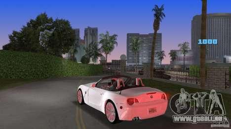 BMW Z4 2004 pour GTA Vice City sur la vue arrière gauche