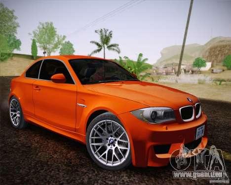 BMW 1M v2 für GTA San Andreas Rückansicht