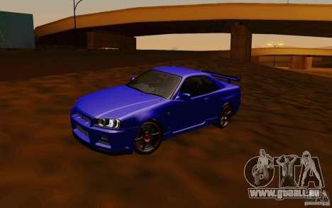 Nissan Skyline R34 GT-R V2 pour GTA San Andreas