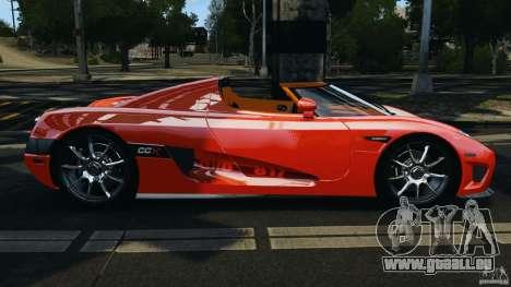 Koenigsegg CCX 2006 v1.0 [EPM][RIV] pour GTA 4 est une gauche