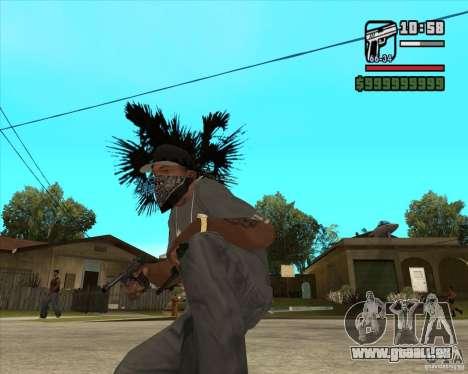 Pistolet Luger pour GTA San Andreas deuxième écran