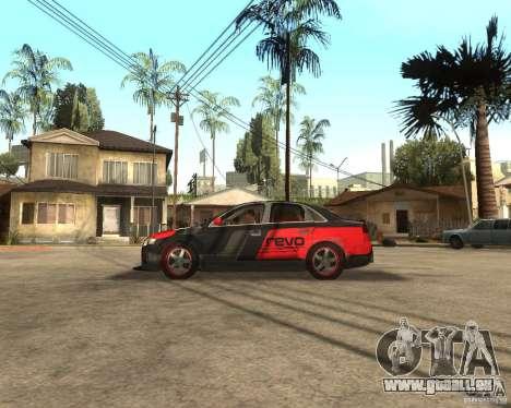 Audi RS4 Grip pour GTA San Andreas laissé vue