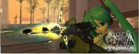 Half-Life weapon pack pour GTA San Andreas quatrième écran