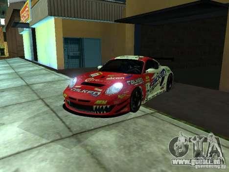 Porsche Cayman S NFS Shift pour GTA San Andreas vue de droite
