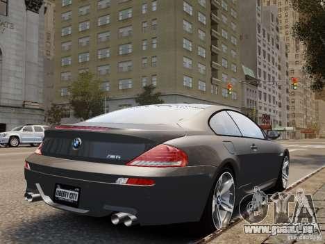BMW M6 2010 für GTA 4 linke Ansicht