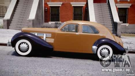 Cord 812 Charged Beverly Sedan 1937 pour GTA 4 est une gauche