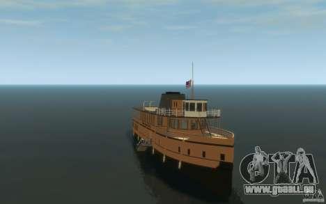 Staten Island Ferry für GTA 4 Rückansicht