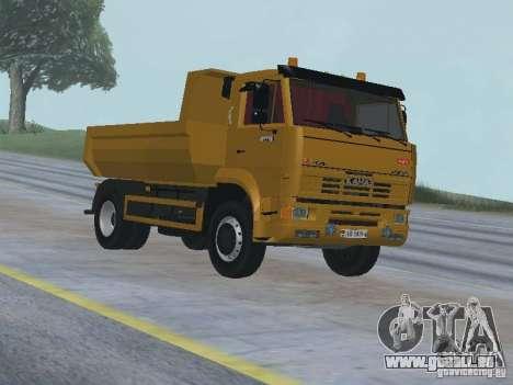 KAMAZ 53605 TAI version 1.1 pour GTA San Andreas vue arrière