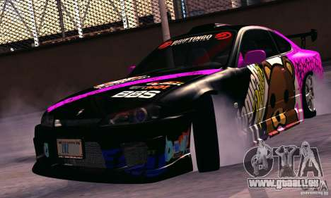 Nissan Silvia s15 tunable für GTA San Andreas rechten Ansicht