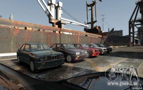BMW M3 E30 für GTA 4 Rückansicht