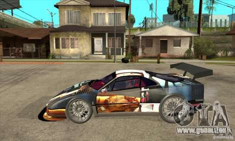 Ferrari F40 2000 Extreme pour GTA San Andreas laissé vue