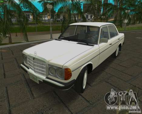 Mercedes-Benz 230 1976 pour GTA Vice City