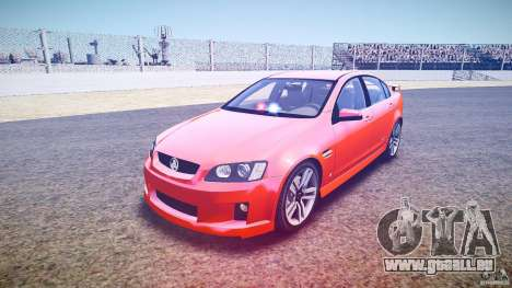 Holden Commodore SS (FBINOoSE) für GTA 4 Rückansicht