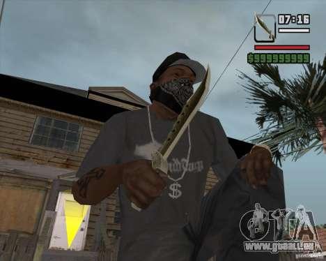 Steep Knife pour GTA San Andreas