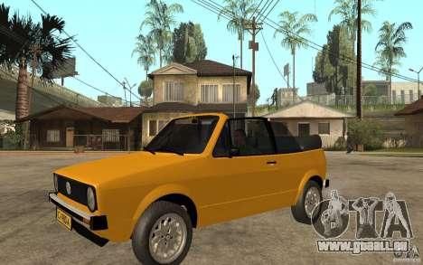 Volkswagen Golf MK1 Cabrio pour GTA San Andreas