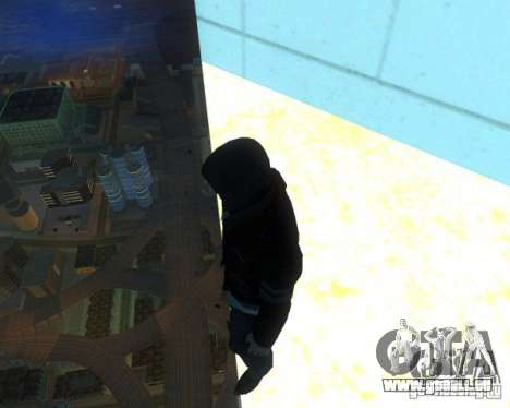 Prototype MOD pour GTA San Andreas quatrième écran