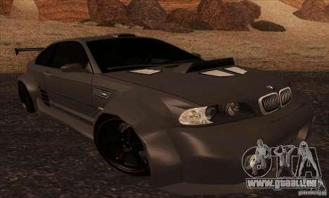BMW M3 für GTA San Andreas Seitenansicht