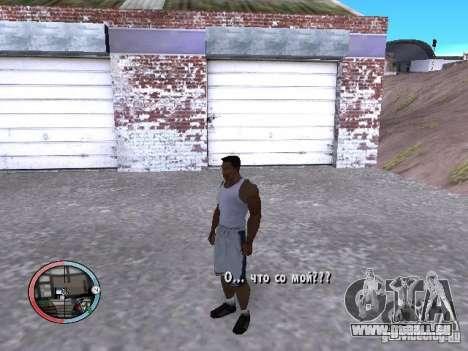 DRUNK MOD V2 pour GTA San Andreas deuxième écran